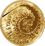 20 euros Aladdin -  avers