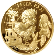 20 euros Peter Pan -  avers
