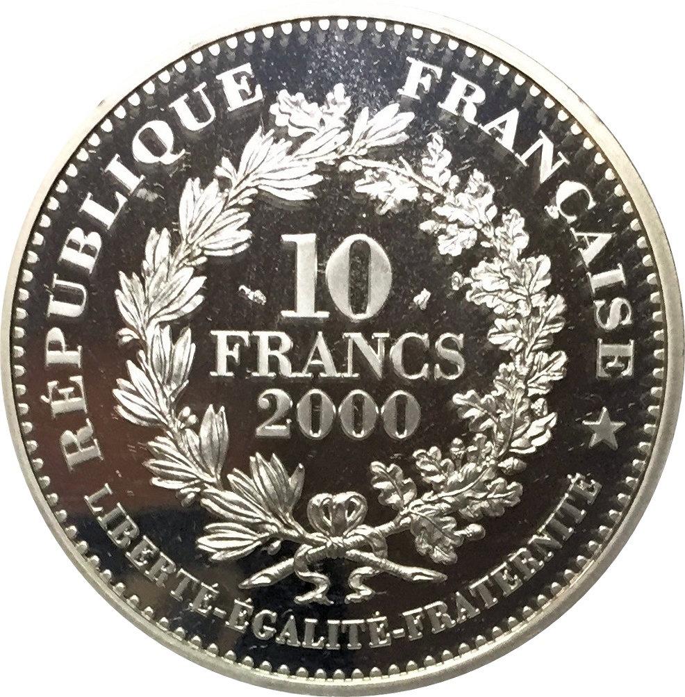 10 Francs Charlemagne Denar France Numista