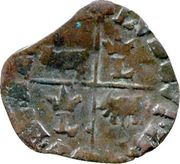 Vaquette du Béarn, non datée - Louis XIII – avers