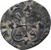 Vaquette du Béarn, date aux cantons de la croix - Louis XIII – revers