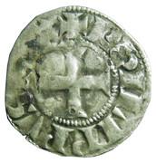 """Denier Tournois (à l'O long) - Philippe IV dit """"le Bel"""" – avers"""