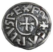 Denier (au monogramme carolingien KRLS) - Charles II le Chauve – avers