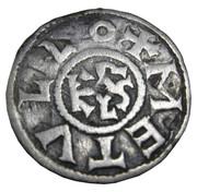 Denier (au monogramme carolingien KRLS) - Charles II le Chauve – revers