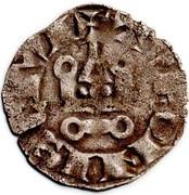 Denier tournois(légende TVRONIS) - Louis VIII et début du règne de Louis IX – revers