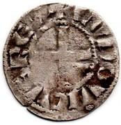 """Denier tournois - Louis IX dit """"Saint-Louis"""" – avers"""
