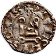 """Denier tournois (à l'O rond) - Philippe IV dit """"le Bel"""" – revers"""