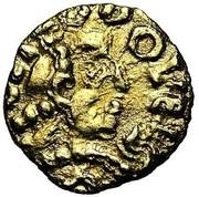 Tremissis - Clovis II – avers