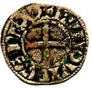 Denier tournois - Louis VIII et début du règne de Louis IX – avers