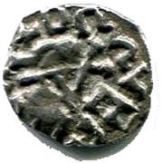 Denier mérovingien ( VIe - VIIIe siècle) – avers