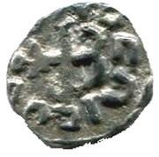 Denier mérovingien ( VIe - VIIIe siècle) – revers