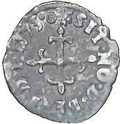Liard du Dauphiné - Charles IX - 2ème Émission -  revers