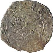 Demi-niquet ou demi-léopard - Henry V roi de France et d'Angleterre – avers
