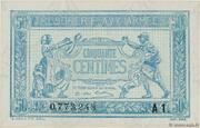 50 centimes - Trésorerie aux Armées (type 1919) – avers