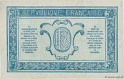 50 centimes - Trésorerie aux Armées (type 1919) – revers