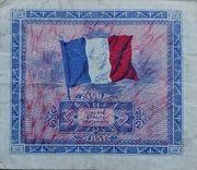 2 francs Drapeau (type 1944) – revers