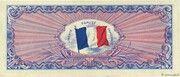 50 francs Drapeau (type 1944) – revers