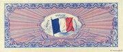 100 francs Drapeau (type 1944) – revers