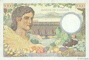 1000 francs Algérie (type 1943) – revers