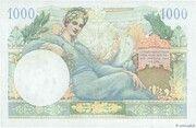 1000 francs Suez (type 1956) – revers