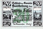 20 Heller (Frankenburg) -  avers