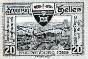 20 Heller (Frankenburg) -  revers