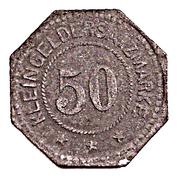 50 pfennig - Frankenhausen – revers