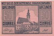 50 Heller (Frankenmarkt) -  avers
