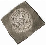 15 Batzen (Klippe; Siege coinage) – avers