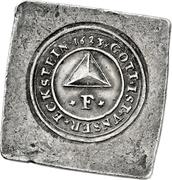 2 Gulden (Siege coinage; Klippe) – avers