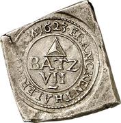 7½ Batzen (Siege coinage; Klippe) – avers