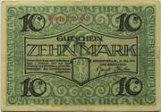 10 Mark (Frankfurt am Main) – avers