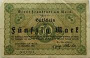 50 Mark (Frankfurt am Main) – avers