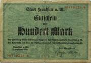 100 Mark (Frankfurt am Main) – avers