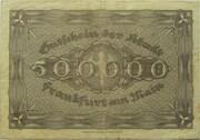 500,000 Mark (Frankfurt am Main) – revers