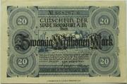 20,000,000 Mark (Frankfurt am Main) – avers