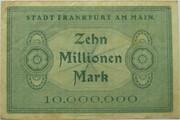 10,000,000 Mark (Frankfurt am Main) – revers