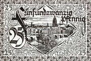 25 Pfennig (Frankfurt am Main) – revers