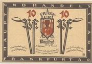 10 Pfennig (Frankfurt an der Oder) – avers