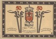 50 Pfennig (Frankfurt an der Oder) – avers