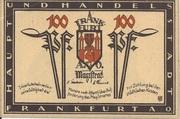 100 Pfennig (Frankfurt an der Oder) – avers