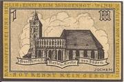 100 Pfennig (Frankfurt an der Oder) – revers