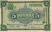 5 Mark (Frankfurt a.O.) – avers