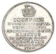 1½ ducat (Essai de frappe en argent) – avers