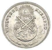 1½ ducat (Essai de frappe en argent) – revers