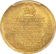 1½ Ducat (Couronnement de Josef II) – avers