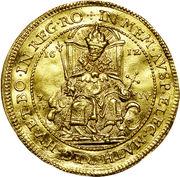 4 ducat Matthias I – avers