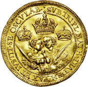 4 ducat Matthias I – revers
