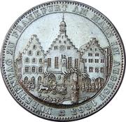 1 Thaler (Congrès des princes de Francfort) – avers