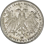 2 Gulden (Constitutional Convention) – avers